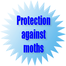 Protection against moths